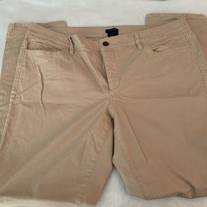 Ann Taylor Khaki pants